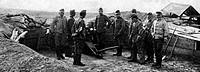guerra italo turca, tripolitania, costruzione del campo e trincea, 1912