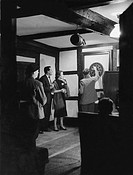 tiro a segno in un pub londinese, 1964