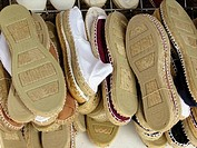 Espadrilles. Mallorca. Balearic Islands. Spain