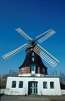 Windmill, ´Katharina´, Eiderstedt, Schleswig-Holstein, Germany