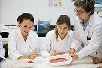 Sensor Laboratory. Sensor analysis. Meat products taste. AZTI-Tecnalia. Technological Centre specialised in Marine and Food Research. Sukarrieta, Bizk...