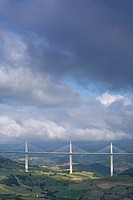 Bridge Millau, Tarn valley, France