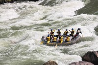 Nepal, Trisuli River, White water rafting