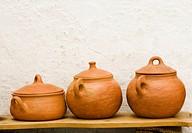 Pottery. Local handicraft from Vejer de la Frontera. Andalucia. Spain.