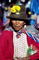 Quechua woman. Pisac, Sacred Valley, Peru