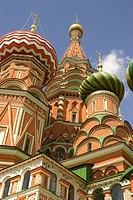 Russia. Moscow. Red Square. St. Basil's Cathedral