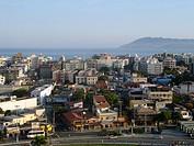 Aerial View of Cabo Frio city, Rio de Janeiro, Brazil