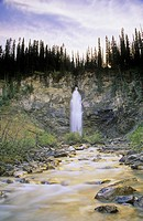 Laughing Falls, Yoho National Park, British Columbia, Canada