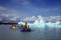River Rafting, Glacier Bay-Tatshenshini-Alsek UNESCO World Heritage Site, British Columbia, Canada