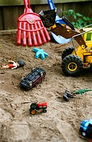 Toys in Sand