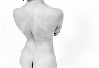 Standing Nude Back