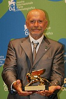 08-09-2007 - 64th Venice International Film Festival - Official awards: Special Lion to Nikita Mikhalkov