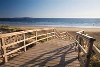 La Lanzada beach. San Xenxo, Pontevedra province. Galica. Spain