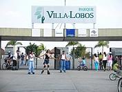 Villa Lobos park, São Paulo, Brazil