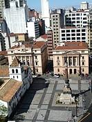 College patio, São Paulo, Brazil