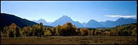 Teton Range, Grand Teton National Park, Wyoming