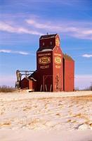 Grain Elevator, Mozart, Manitoba
