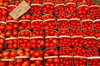 Tomatoes in a Market, Kitchener, Ontario
