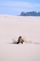 Four Wheeler in Oregon Sand Dune