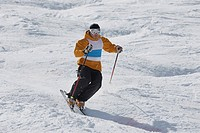 Moguls Skier