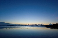 Sunset, Chesterman Beach, Tofino, Vancouver Island, BC