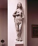 fine arts, Riemenschneider, Tilman circa 1460 - 1531, Eve, sculpture, market portal, Saint Mary chapel Würzburg, sandstone, museum of Main Franconia, ...