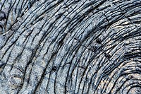 Close-up of dry lava surface, Kalapana, Big Island, Hawaii Islands, USA