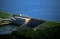 West Point hydroelectric dam, Georgia, USA