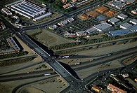 Suburban developments, Southern California, Aerial view (thumbnail)
