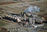 Geothermal power plant, Calipatria, California