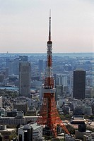 Aerial view of Tokyo, Japan (thumbnail)
