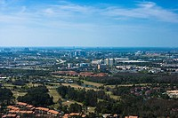 Panoramic view of a city, Orlando, Florida, USA