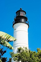 Low angle view of a lighthouse, Key West Lighthouse Museum, Key West, Florida, USA
