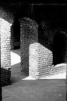 Interiors of a castle, Fort Zachary Taylor, Key West, Florida, USA