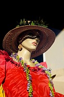 Close-up of a mannequin, Honolulu, Oahu, Hawaii Islands, USA