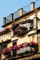Low angle view of a building, Florence, Tuscany, Italy