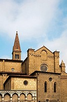 Low angle view of a church, Church of Santa Maria Novella, Florence, Tuscany, Italy