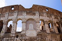 Old ruins of an amphitheater, Coliseum, Rome, Italy (thumbnail)