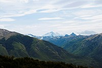 Panoramic view of mountains, San Carlos De Bariloche, Argentina