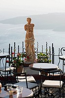 Statue in a restaurant, Greece