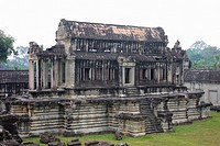 Old ruins of a temple, Angkor Wat, Siem Reap, Cambodia