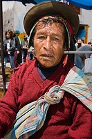 Portrait of a mature man, Peru