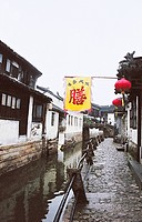Canal, Tongli Town, Wujiang City, Jiangsu Province of People´s Republic of China, FOR EDITORIAL USE ONLY
