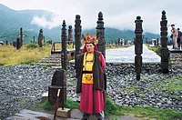 Dongba Wizard in Dongba Park , Lijiang City, Yunnan Province, People's Republic of China, FOR EDITORIAL USE ONLY