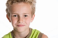 Portrait of a blond boy (thumbnail)