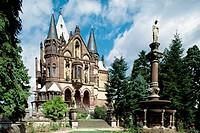 Germany. Rhineland-Palatinate. Königswinter. Drachenburg castle. (1879 - 1884)