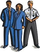 Uniformed staff (thumbnail)