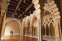 Palace of Aljaferia. Zaragoza, Aragon. Spain