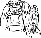 Surgeons performing a surgery at the operating room (thumbnail)