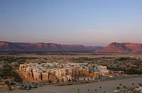 Yemen, Shibam, Old town, UNESCO, World Heritage, Architecture, Wadi Hadramaut, Hadhramaut, Hadramaut, South Yemen, Ara